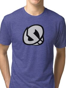Team Skull Logo- Pokemon Sun & Moon Tri-blend T-Shirt