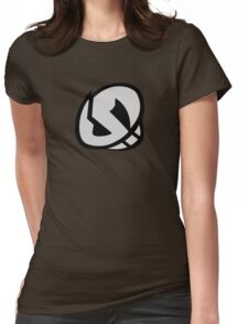 Team Skull Logo- Pokemon Sun & Moon Womens Fitted T-Shirt