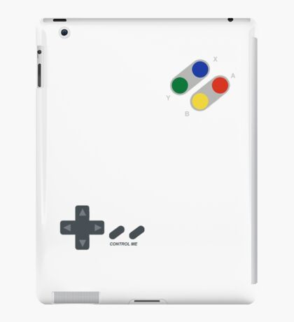 Control me, like one of your retro games! iPad Case/Skin