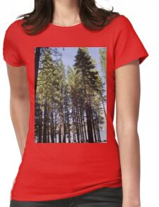 redwoods i Womens Fitted T-Shirt