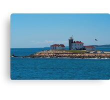 The Scenic Watch Hill Lighthouse Canvas Print