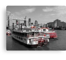 TLC Paddle Steamers, London Canvas Print