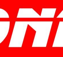 DNB Sticker