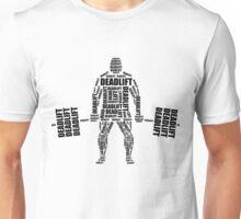 Deadlift - vector words Unisex T-Shirt