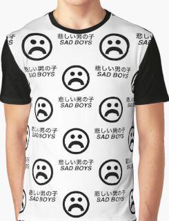 Sad Boys Aesthetic Graphic T-Shirt