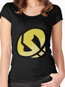 Team Skull - Pokemon Sun & Moon Women's Fitted Scoop T-Shirt