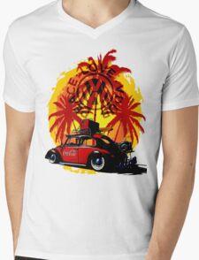 Peace Love Vdub Mens V-Neck T-Shirt