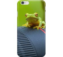 Frog on a Lens iPhone Case/Skin