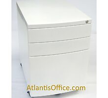 Steel Mobile Lockable Pedestal by atlantisofficee