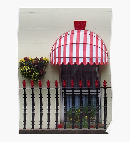 Window Box And Railings Poster