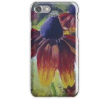 Rudbeckia in Oil on Canvas iPhone Case/Skin