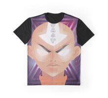 Galaxy Aang  Graphic T-Shirt
