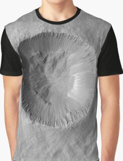 Mars Crater Graphic T-Shirt