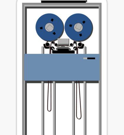 Mainframe Tape Drive Sticker