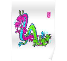 L.A. dragons Poster