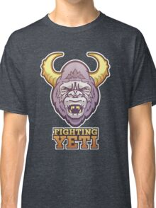 Fighting Yeti Sports Logo Classic T-Shirt
