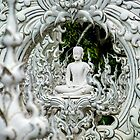 At white temple, Chiang Rai by indiafrank