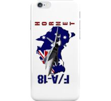 F/A-18 Hornet of the RAAF iPhone Case/Skin