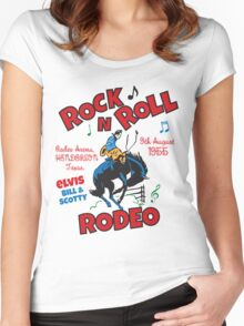 Rock n Roll Rodeo Women's Fitted Scoop T-Shirt