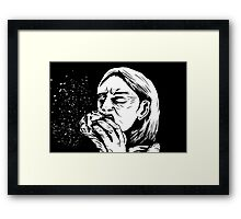 Thou shalt keep bodily functions to a minimum Framed Print