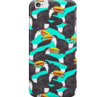 Toucan [green] iPhone Case/Skin