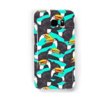 Toucan [green] Samsung Galaxy Case/Skin