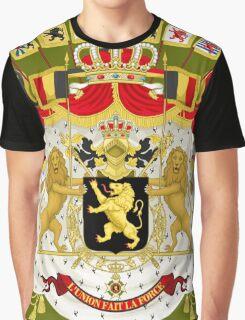 Great Coat of Arms of Belgium Graphic T-Shirt