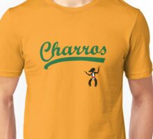 Kenny Powers 55 Charros Away Baseball Shirt Eastbound and Down Unisex T-Shirt