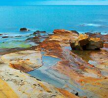 Mediterranean dawn by Patrick Morand