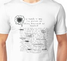 Twenty One Pilots - Anathema Lyrics Unisex T-Shirt