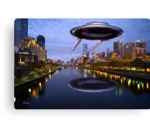 UFO Melbourne Canvas Print