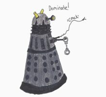 Domination Dalek  Kids Tee
