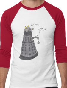 Domination Dalek  Men's Baseball ¾ T-Shirt