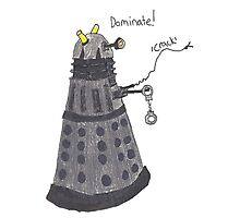 Domination Dalek  Photographic Print