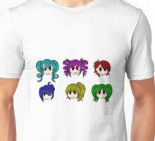 Yandere Simulator - Rainbow 6 Girls Unisex T-Shirt