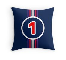 Vettel 1 Throw Pillow