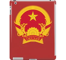 Coat of Arms of Vietnam iPad Case/Skin