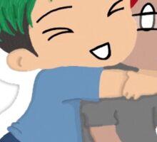 Mark and Jack Surprise Hug Sticker