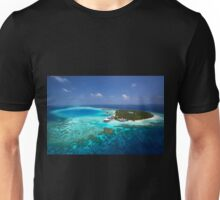 Maldives - Aerial View Unisex T-Shirt