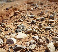 On the rocks by pilsetnieks