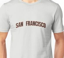 Kenny Powers 55 San Francisco Baseball Shirt Eastbound and Down Unisex T-Shirt