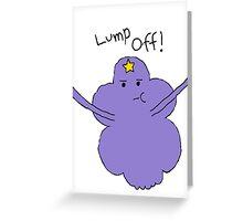 Lumpy Space Princess: Lump Off! Greeting Card
