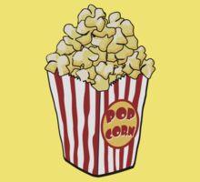Cartoon Popcorn Bag by mdkgraphics