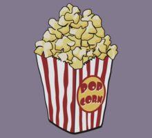 Cartoon Popcorn Bag Kids Clothes