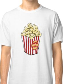Cartoon Popcorn Bag Classic T-Shirt