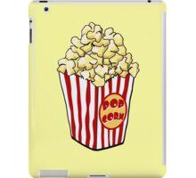 Cartoon Popcorn Bag iPad Case/Skin