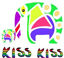 Kiss Kiss by Clare Colins