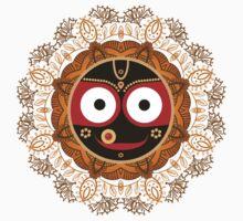 Jagannath. Indian God of the Universe. Lord Jagannatha. Kids Tee