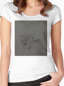 Crâne Women's Fitted Scoop T-Shirt