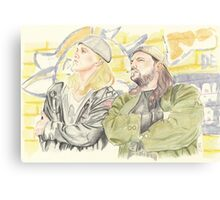 Jay and Silent Bob. Canvas Print